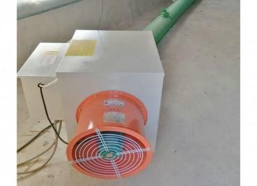 电暖风机养殖升温现场