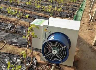 电暖风机在温室中应用